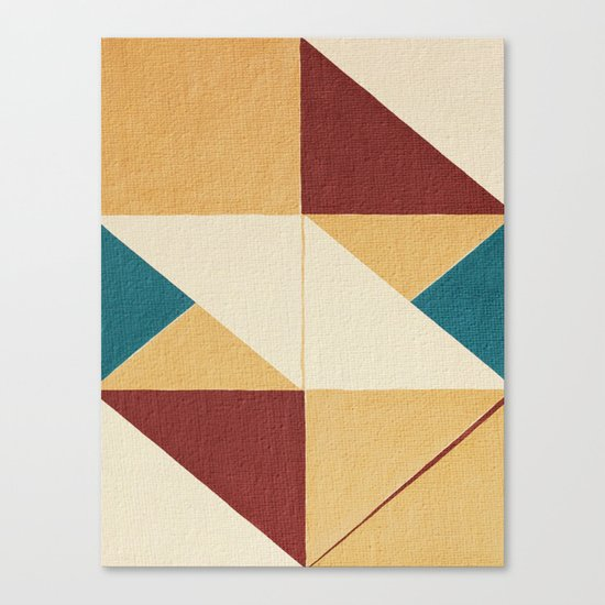 Geometric Thoughts 10 Canvas Print