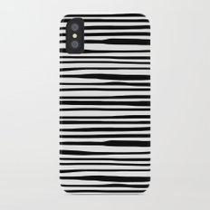Zebra stripes Slim Case iPhone X