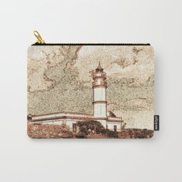 Lighthouse, Faro Ses Salines Carry-All Pouch
