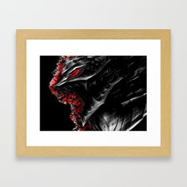 Berserk Demon Armor Framed Art Print