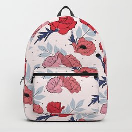 Floral crib sheet Backpack