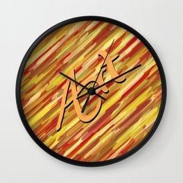 VectorArtwork Wall Clock