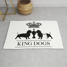 king dogs premium race Rug