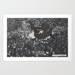 Championship Fight by Erin Case Art Print
