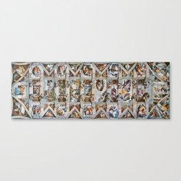 Sistine Chapel Ceiling Michelangelo Canvas Print