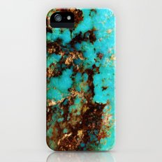 Turquoise I iPhone (5, 5s) Slim Case