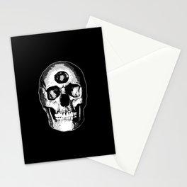 Third Eye Bones (Black and White Edition) Stationery Cards
