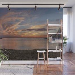 Plum Cove Beach Sunset 6-1-18 Wall Mural