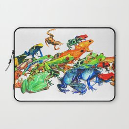 Tropical Frogs Laptop Sleeve