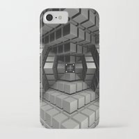 edm iPhone & iPod Cases featuring Time vs. Monolith by Obvious Warrior