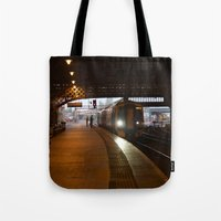 train Tote Bags featuring Train by RMK Creative