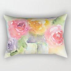Soft Bouquet Rectangular Pillow