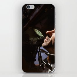 Apollo 7 - Looking At The Stars iPhone Skin
