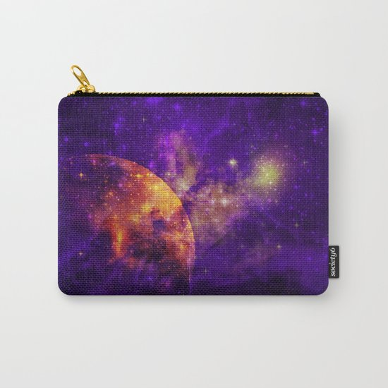 Planet, Nebula and Stars Carry-All Pouch