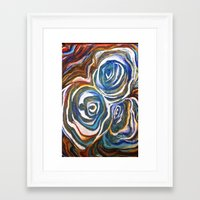 maps Framed Art Prints featuring Maps  by Anne Powers