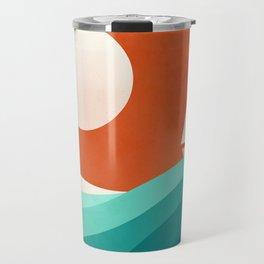 Wave (night) Travel Mug