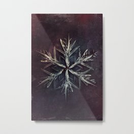 Snowblade Metal Print