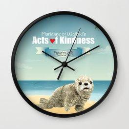 Jeffy The Harbor Seal Wall Clock
