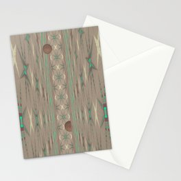 Pallid Minty Dimensions 3 Stationery Cards