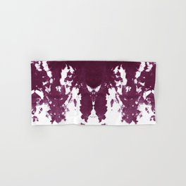 Velvet Kumo Shibori Plum Hand & Bath Towel