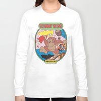 donkey kong Long Sleeve T-shirts featuring Donkey Kong by idaspark
