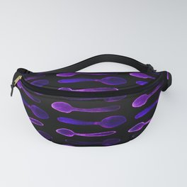 Purple X-Ray Spoons! Fanny Pack