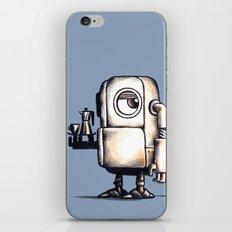 Robot Espresso #2 iPhone & iPod Skin