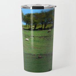 Field of Irish Sheep Travel Mug