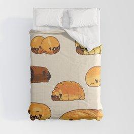 Bread Pugs Comforters