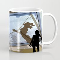 volleyball Mugs featuring Anyone For Volleyball? by Robin Curtiss