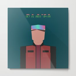 Marty McFly 2015 Metal Print