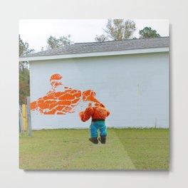 Graffiti Artist I Metal Print