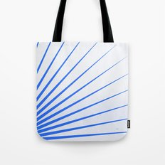 Blue rays Tote Bag