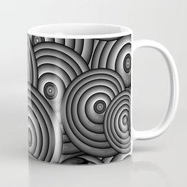 Charcoal Swirls Coffee Mug