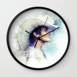 Mitya's Love Wall Clock