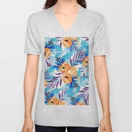 flowers / 69 Unisex V-Neck