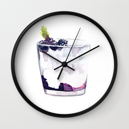 Cocktail no 5 Wall Clock