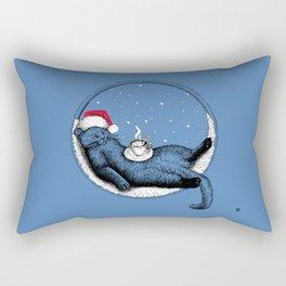 Christmas Cat 2018 Rectangular Pillow