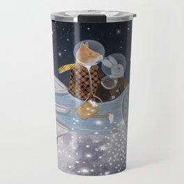 creating stars Travel Mug