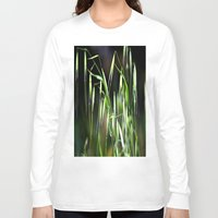 grass Long Sleeve T-shirts featuring grass by  Agostino Lo Coco