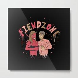 Fiendzone Metal Print