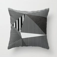 Today my heart swings Throw Pillow