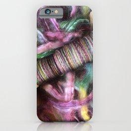 Handspun Bobbin Yarn iPhone Case