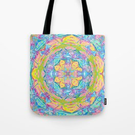 Gentleness and Sweetness Mandala Tote Bag