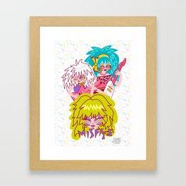 Misfits Jem and the Holograms Framed Art Print