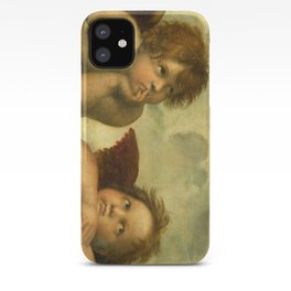 Raphael - Sistine Madonna Angels iPhone Case