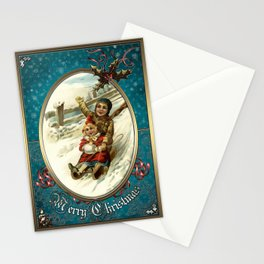 Christmas Vintage 126 Stationery Cards