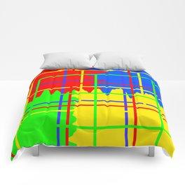 Abstract Skies Comforters