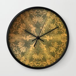 Wonderful mandala of ballerina Wall Clock