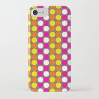 polka dots iPhone & iPod Cases featuring polka dots by nandita singh